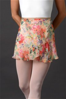 Peachy-florals-wrap-skirt