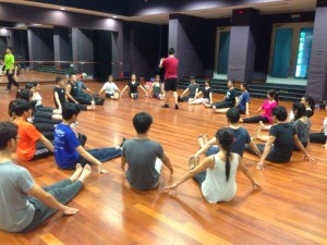 adult ballet workshop