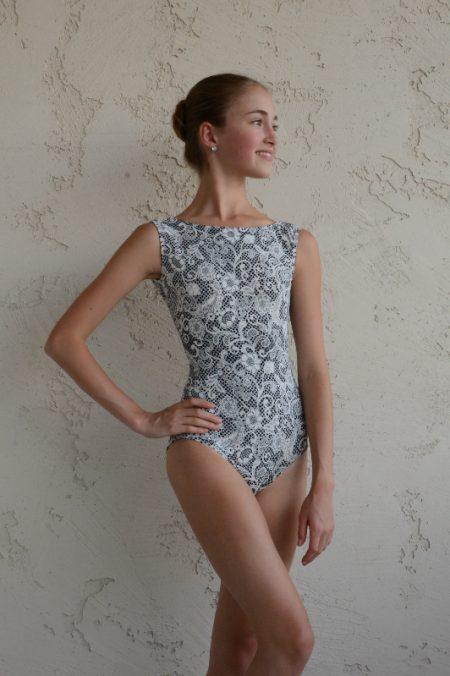 13ce1763e Lace-motif Audrey Leotard - Balletlove.co