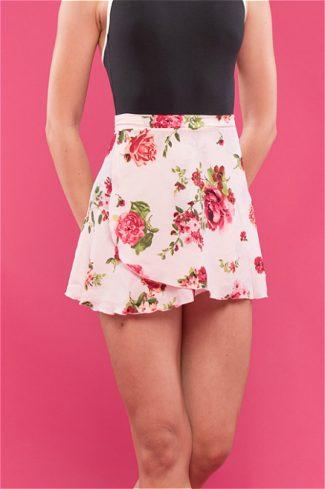Vintage Flare Roses Ballet Skirt