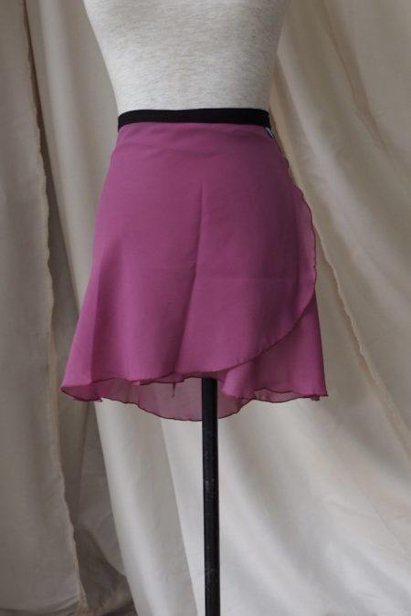 Mulberry Long Back Wrap Skirt
