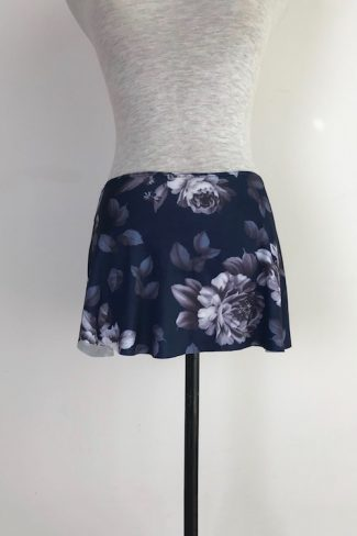 damask-navy-pull-on-skirt