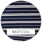 nautical warmer fabric