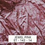 Jewel Prink Velvet