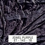Jewel Purple Velvet
