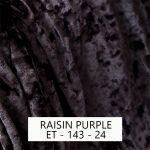 Raisin Purple Velvet