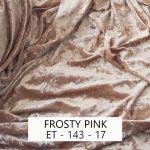 Frosty Pink Velvet