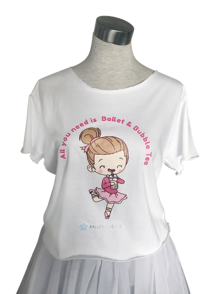 bubble-tea-ballet-ballerina-tee-shirt